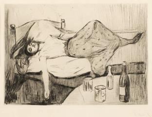 Der tag danach [The day after] , Edvard Munch