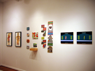 Matt Leines,Don Porcella,Kathy Grayson (installation shot),