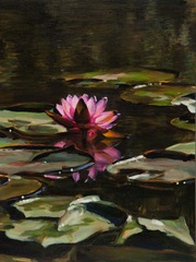 Water Lilies XIV, Linda Pearlman Karlsberg