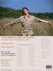 Harold Arts Poster(Aron Gent Hold Up Arms), Scott Cowan, Melina Ausikaitis