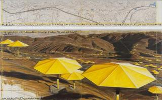 The Unbrellas, Joint project for Japan and U.S.A, Christo and Jeanne-Claude