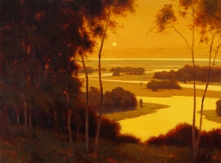 Wetlands Sunset,Brian Blood