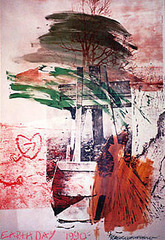 Earth Day , Robert Rauschenberg