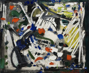Untitled Abstraction, Hans Hofmann
