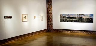 Installation view, Prescott College Art Gallery,