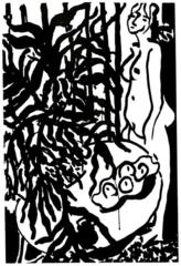 Nu debout, fougère noire, Henri Matisse