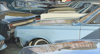 NYC Parking Lot,Richard Estes