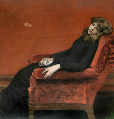 The Young Orphan,William Merritt Chase