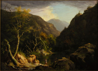 Autumn in the Catskills,Thomas Cole