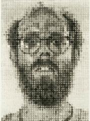 Self-Portrait, Chuck Close