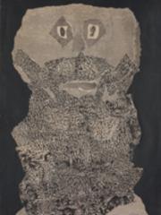 Beard Garden (detail), Jean Dubuffet