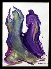 Dos Mujeres Caminando, David Alfaro Siqueiros