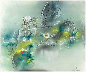 Paysage Libidinal, Roberto Matta