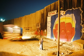 Abu Dis-- The Wall at Dusk, Michael Keating