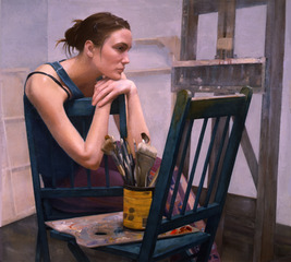 The Art Student, Sharon Sprung