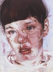 Red Stare Head IV, Jenny Saville