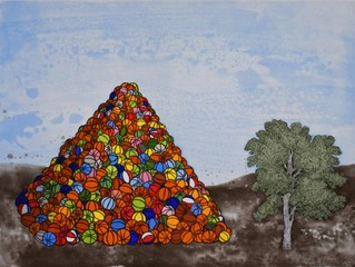Basketball Pyramid,David Huffman