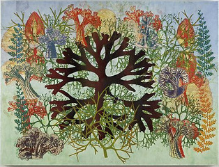 After Alcyonaria I, Philip Taaffe