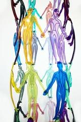 Detail: HUMAN STRUCTURES (32 FIGURES), Jonathan Borofsky