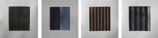 Black Thirty; Blue Half + Half; Brown Thirteen; Blue Eight, Amy Kaufman