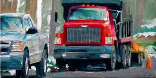 Two Trucks, David Dorsey