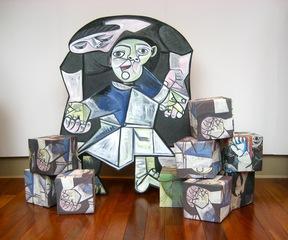 After Picasso: First Steps/ Papa est un Cubiste , Susan Sills