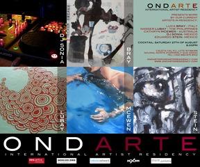 August Artists Group Show, Cathryn McEwen, Luca Bray, Nasser Lubay, Eduardo Stein, DJ Sonia