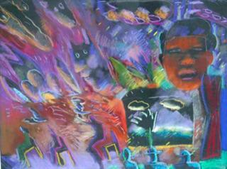 Santa Fe Memories, Carlos Almaraz