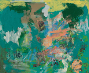 Untitled (abstract landscape), Kristopher Benedict