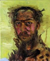Selfportrait as an African Hunter, Bogdan Vladuta