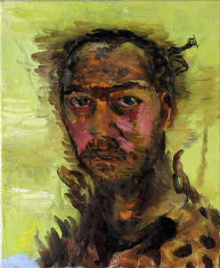 20110826151140-bogdan_vladuta__selfportrait_as_an_african_hunter__2009__oil_on_canvas__16_x_13in__41_x_33cm_