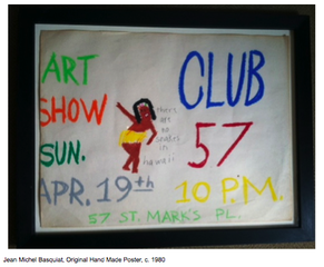 Hand Made Poster, Jean-Michel Basquiat