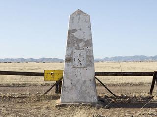 Border Monument No. 106, N31° 19.978' W 110° 27.515' , David Taylor
