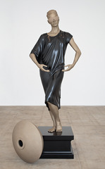 Human Statue (Jessie),Frank Benson