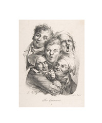 The Grimaces (Les grimaces),Louis-Lopold Boilly