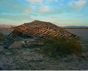 Collapsed Structure (A)   , John Divola