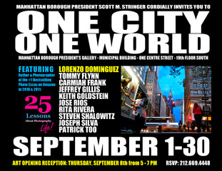 One City. One World., Lorenzo Dominguez