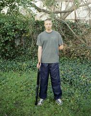 Marine with air rifle, Jason Hanasik