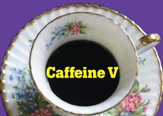 Caffeine V logo,