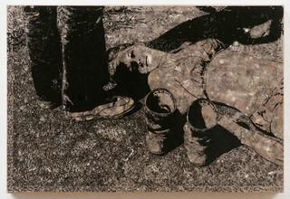 Girl Lying Down, Jane Hammond