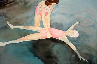 Mom Learning to Float, Allison Maletz