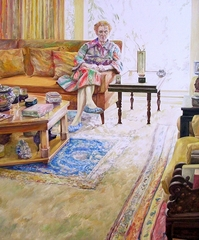 Rose in the Living Room, Joyce Treiman