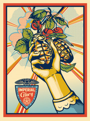 Imperial Glory,Shepard Fairey