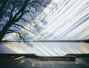 23.4. 2005 - 23.4.2006 Der Großleuthener See, Michael Wesely