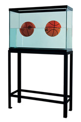 Two Ball 50/50 Tank (Spalding Dr. J Silver Series, Wilson Supershot,Jeff Koons
