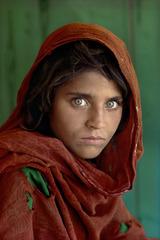 Sharbat Gula, Afghan Girl, Pakistan, Steve McCurry
