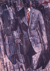 """Man in Suit – Dithyrambic I"", Markus Lüpertz"
