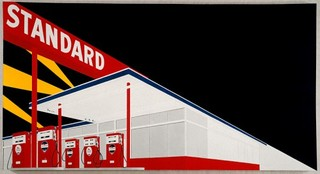 Standard Station, Amarillo, Texas, Ed Ruscha