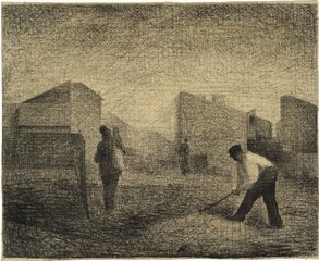 Stone Breaker, Le Raincy,Georges-Pierre Seurat