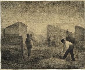 Stone Breaker, Le Raincy, Georges-Pierre Seurat